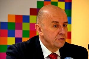 Na zdj. Cezary Cieślukowski jeszcze jako działacz PO i członek Zarządu Województwa Podlaskiego.