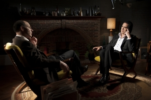 "Nick Cave w filmie ""20 000 dni na Ziemi""."