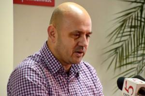 Na zdj. Grzegorz Gorlo, radny PiS i kandydat na prezydenta Suwałk.