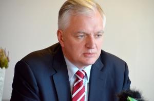 Na zdj. Jarosław Gowin.