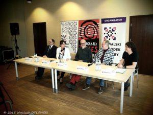 Konferencja w Suwalskim Ośrodku Kultury dotycząca tegorocznej edycji SBF.