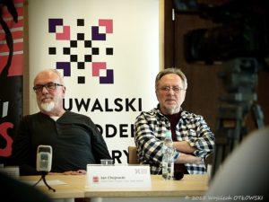 Jan Chojnacki i Andrzej Matysik od lat związani z Suwałki Blues Festival.
