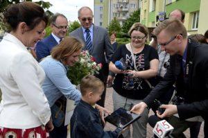 Iryna Popova z synem już w Suwałkach.
