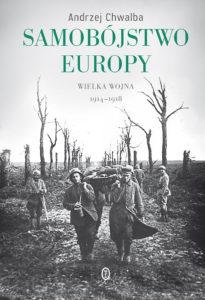 """Okładka książki """"Samobójstwo Europy""""."""