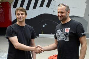Na zdj. od lewej: Radosław Krupiński i Wojciech Otłowski.