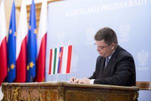 Na zdj. marszałek województwa podlaskiego, Jerzy Leszczyński, źródło: premier.gov.pl