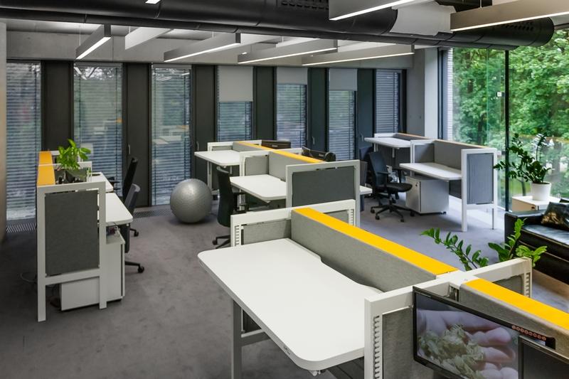 biuro, meble biurowe, open space, Mikomax