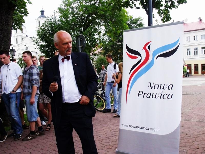 Korwin-Mikke nad Czarną Hańczą Niebywałe Suwałki 1