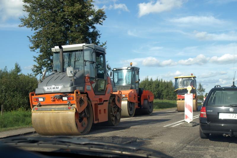Remont przygranicznej drogi ruszył pełną parą Niebywałe Suwałki 2