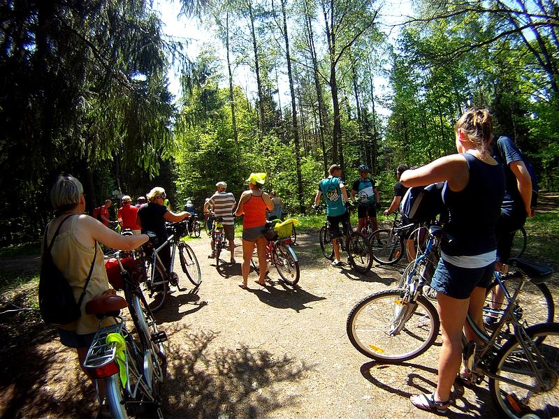 Jedź rowerem z LGR-em - fotorelacja z rajdu Niebywałe Suwałki 12