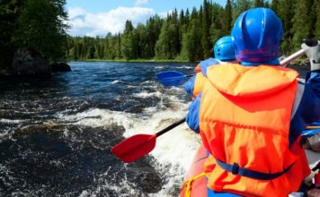 rafting, sporty wodne
