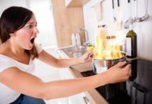 obiad, kuchnia, kobieta, posiłek domowy