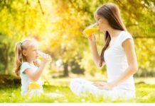 dziecko, matka, rodzina, dieta