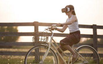 VR, rower, rozrywka